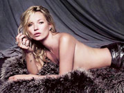 Kate Moss bares it all on billboard