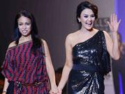 Preity Zinta walks the ramp for Surily Goel