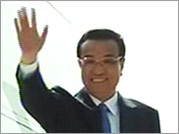 Chinese Premier Li Keqiang arrives in India