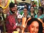 Fan No. 1 says Happy Birthday to Madhuri Dixit