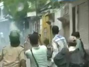 Telangana protesters clash with police in Hyderabad