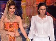 Bollywood stars glam up Day 2 of India Bridal Fashion Week
