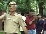 Student groups, NGOs protest outside PM's residence against RTI move