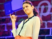 Dance me to the end of love, says Aditi