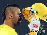Mahendra Singh Dhoni on a roll! Hits five 6s in an over