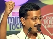 Entire existing political class is corrupt: Kejriwal at India Today Mind Rocks 2013