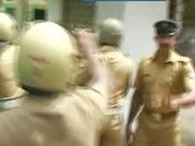Kerala cops brutally assault Left activist protesting UDF govt