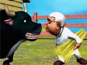 Lalu takes the bull by the horns, and guess what happens?