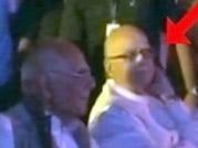Narendra Modi ignores L K Advani at Ram Jethmalani's birthday party?