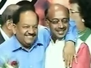 Vijay Goel-Harsh Vardhan stand united for Delhi Assembly polls
