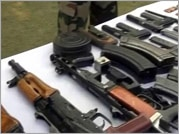Huge cache of arms recovered by Army during operation in Keran