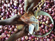 Onion prices bring tears during festive season, hit Rs 90 per kg