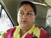 On the campaign trail with Vasundhara Raje: Reaching out, drawing in