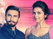 Ranveer Singh and Deepika Padukone promote Ram Leela in Delhi