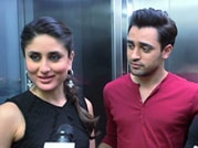 Elevator pitch: Kareena, Imran talk about Gori Tere Pyaar Mein