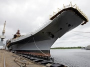 INS Vikramaditya to be inducted into Indian Navy today