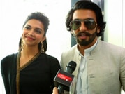 Elevator pitch with the cast of Ram Leela
