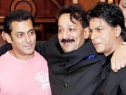Salim Khan says there can never be love between rivals Shah Rukh and Salman