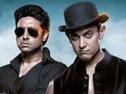 Watch Abhishek Bachchan and Uday Chopra work as a team in Dhoom 3