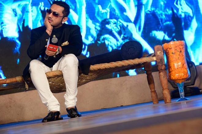Rapper Yo Yo Honey Singh enthrals Agenda Aaj Tak audience