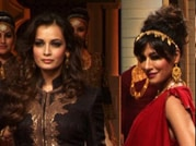 Bollywood stars add glam to the India Bridal Fashion Week ramp