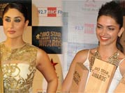 Bollywood stars glam up the red carpet