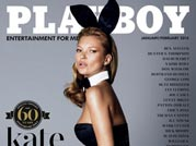 Kate Moss is Playboy's latest covergirl
