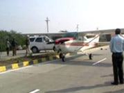 Private plane lands on Betul-Nagpur Highway in Madhya Pradesh, blocks traffic