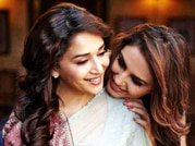 Dedh Ishqiya stars Madhuri Dixit, Huma Qureshi go shopping in New Delhi
