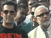 Salman Khan joins Narendra Modi in Ahmedabad for Uttarayan