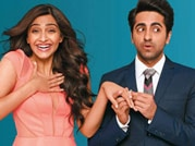 Check out Sonam, Ayushmann's sizzling chemistry in Bewakoofiyan