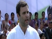Rahul Gandhi meets with tribal leaders in Assam