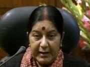 Sushma Swaraj says Cong played game on Telangana