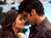 Arjun Kapoor, Alia Bhatt act lovey dovey while promoting 2 States
