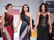 Mandira Wirk at Wills India Fashion Week