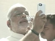 Narendra Modi casts his vote for Lok Sabha polls