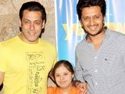 Salman Khan attends the screening of 'Yellow'