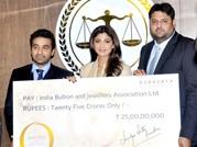 Shilpa Shetty's latest venture: A jewellery line