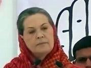 Sonia, Rahul attacks Modi over Gujarat model