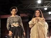 ICW 2014, day 2: Kangana Ranaut turns showstopper for Anju Modi