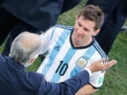 Lionel Messi gives Argentina 'water in the desert: Coach Alejandro Sabella