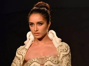 ICW 2014: Shraddha Kapoor walks the ramp for Gaurav Gupta