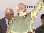 Modi slams Pakistan for proxy war in Kargil