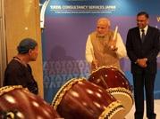 Prime Minister Narendra Modi showcases his lighter side in Japan