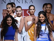 Gauri-Nainika pay tribute to Mother Nature at Wills fashion fest