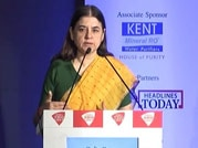 Maneka Gandhi at India Today's I am Shakti Woman Safety Summit asks why a woman is always subject to violence
