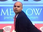 Guess the batsman game with comedian Vikram Sathaye