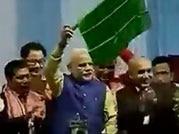 PM Modi flags off first train to Meghalaya