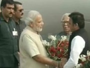Modi visits Varanasi, adopts Jayapura
