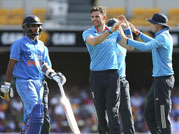 India bow out of ODI tri-series
